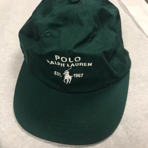 Polo Ralph Lauren vtg hat green